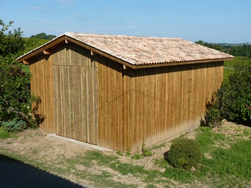 Tabacco drying barn